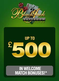 Blackjack Ballroom Casino High Roller Bonus Blackjackballroom